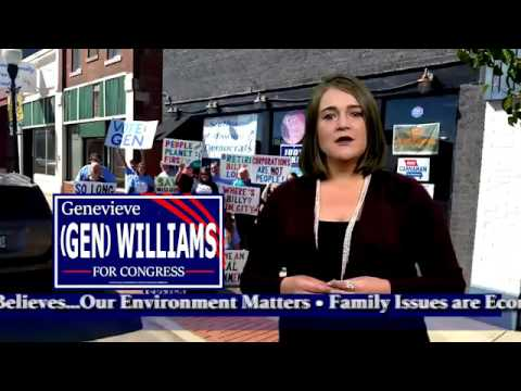 Episode 8 Genevieve Williams, Missouri, and some Yellin' 'Bout Bernie