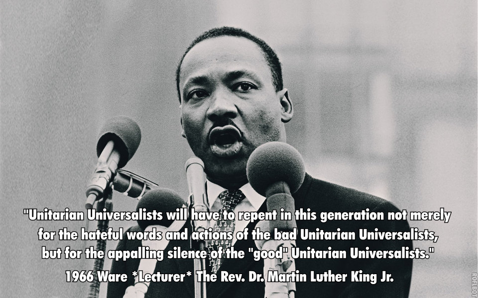 """I am proud to be maladjusted…"" MLK at the Ware Lectures in 1966"