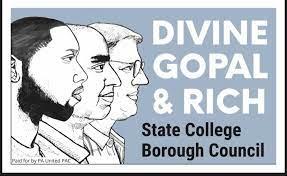 Gopal, Rich, and Divine for State College Borough Council (s3e43)